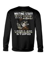 Waiting Staff Crewneck Sweatshirt thumbnail