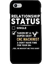 CNC Machinist Phone Case tile