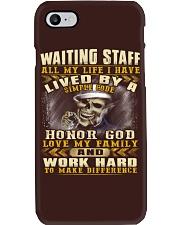 Waiting Staff Phone Case thumbnail