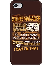 Store Manager Phone Case thumbnail