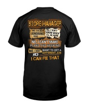 Store Manager Classic T-Shirt thumbnail
