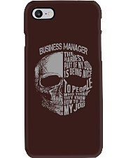 Business Manager Phone Case thumbnail