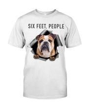Bulldog 6 Feet People Shirt Classic T-Shirt thumbnail