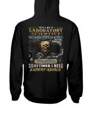 Laboratory Scientist Hooded Sweatshirt back