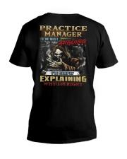 Practice Manager V-Neck T-Shirt thumbnail