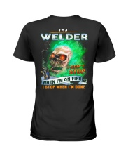 Welder Ladies T-Shirt thumbnail