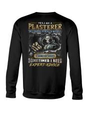 Plasterer Crewneck Sweatshirt thumbnail