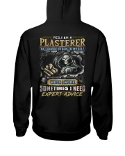Plasterer Hooded Sweatshirt back