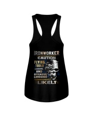 Ironworker Ladies Flowy Tank thumbnail