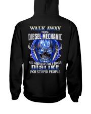 Diesel Mechanic Hooded Sweatshirt back