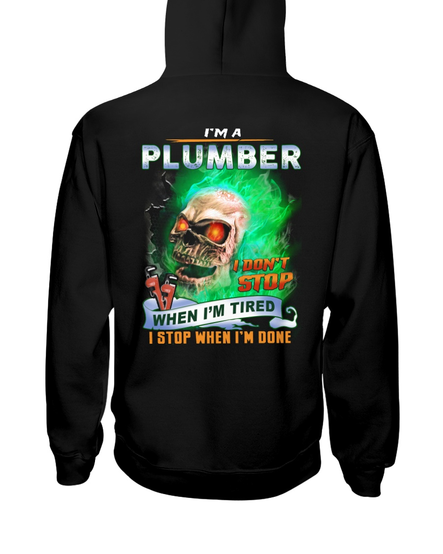 Plumber Hooded Sweatshirt
