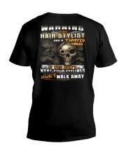 Hair Stylist V-Neck T-Shirt thumbnail