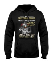 Directional Driller Hooded Sweatshirt front