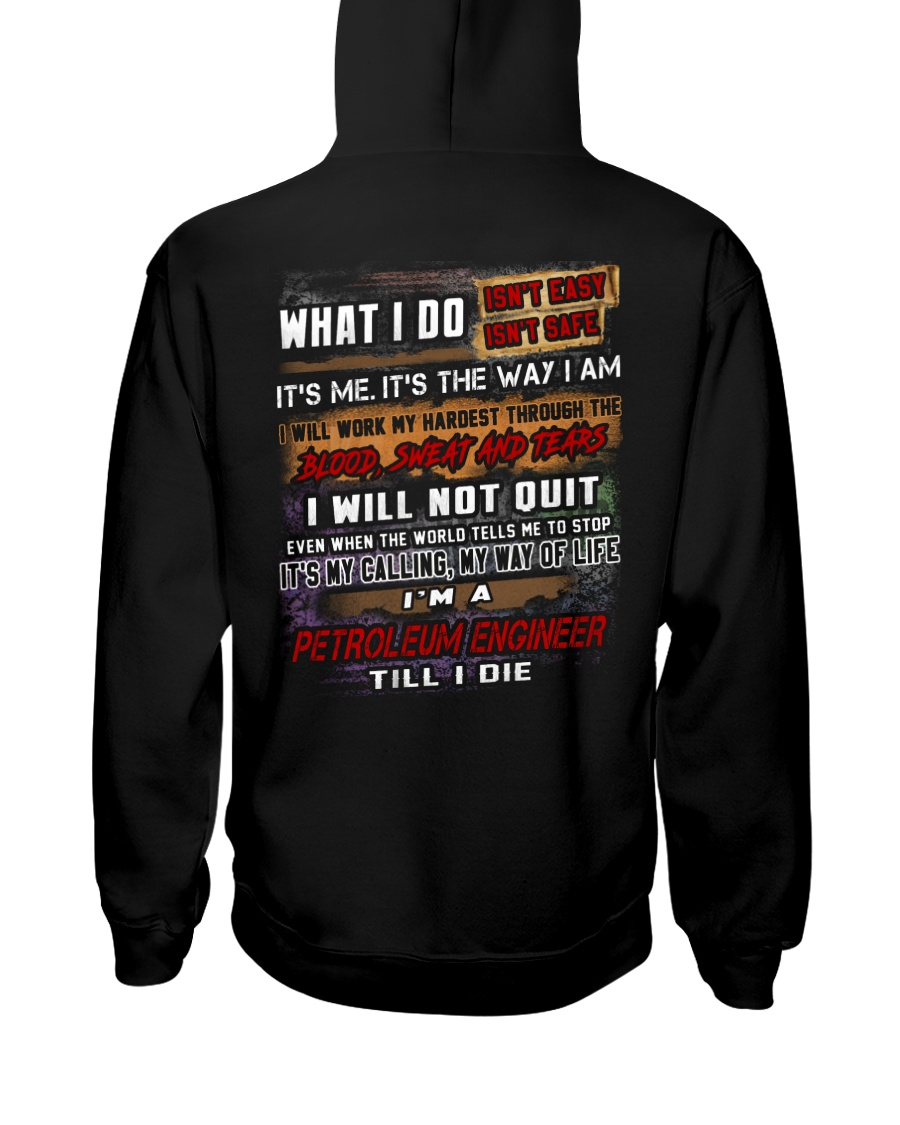 Petroleum Engineer Hooded Sweatshirt