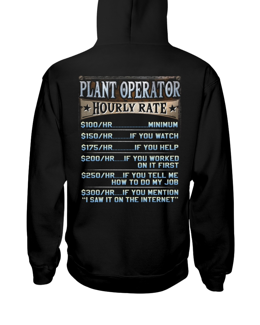 Plant Operator Hooded Sweatshirt