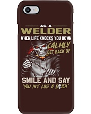 Welder Phone Case tile