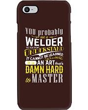 WELDER MASTER T-SHIRT Phone Case thumbnail