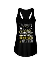 WELDER MASTER T-SHIRT Ladies Flowy Tank thumbnail