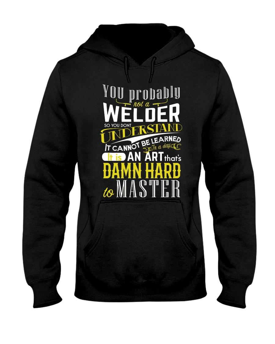 WELDER MASTER T-SHIRT Hooded Sweatshirt