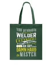 WELDER MASTER T-SHIRT Tote Bag thumbnail