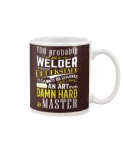 WELDER MASTER T-SHIRT Mug thumbnail