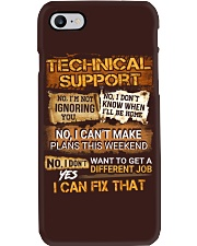 Technical Support Phone Case thumbnail
