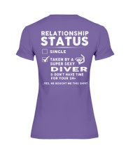 Diver Diving Status Job Shirt Premium Fit Ladies Tee tile