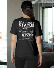 Diver Diving Status Job Shirt Ladies T-Shirt apparel-ladies-t-shirt-lifestyle-back-08