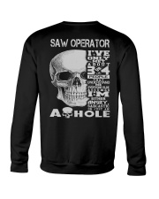 Saw Operator Exclusive Shirt Crewneck Sweatshirt thumbnail