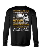 Quality Manager Crewneck Sweatshirt thumbnail