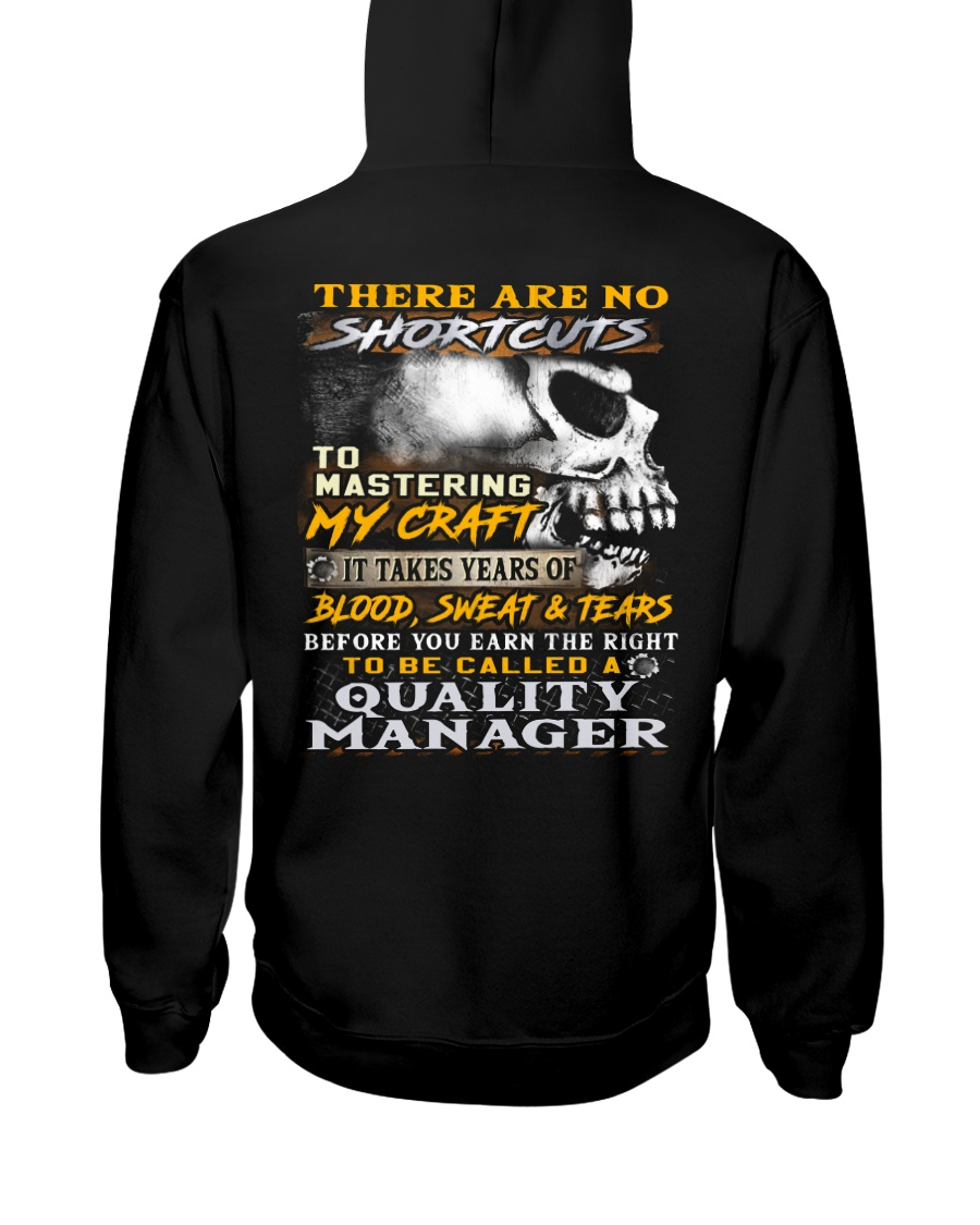 Quality Manager Hooded Sweatshirt