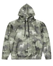 Frenchie All Over Shirt Men's All Over Print Hoodie front