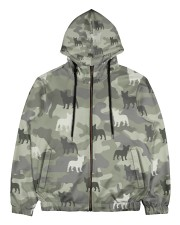 Frenchie All Over Shirt Men's All Over Print Full Zip Hoodie thumbnail