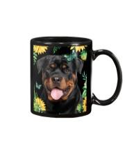 Rottweiler Flower Phone Case Mug thumbnail