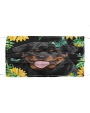 Rottweiler Flower Phone Case Cloth face mask thumbnail