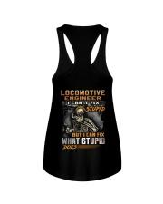 Locomotive Engineer Ladies Flowy Tank thumbnail