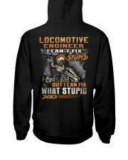 Locomotive Engineer Hooded Sweatshirt back