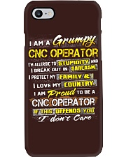 Cnc Operator Phone Case tile