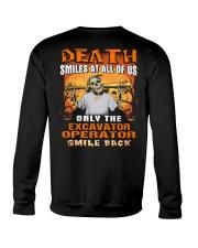 Excavator Operator Crewneck Sweatshirt thumbnail