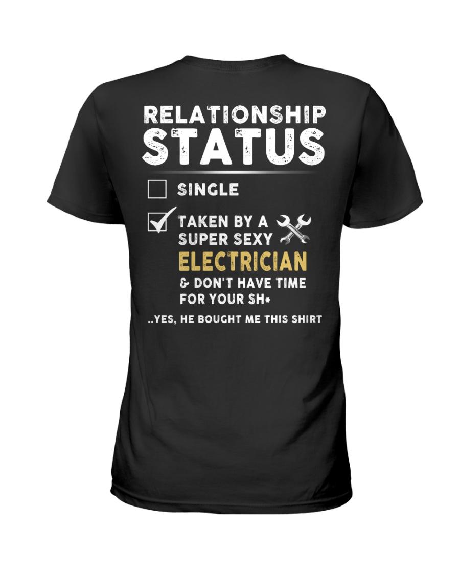 Electrician Ladies T-Shirt
