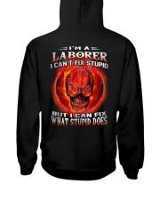 Laborer Hooded Sweatshirt back