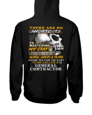 General Contractor Hooded Sweatshirt back