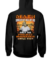 Project Manager Hooded Sweatshirt back