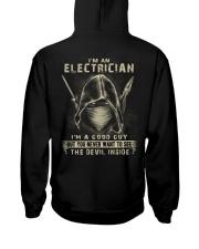 Electrician Hooded Sweatshirt back