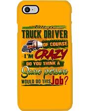 Truck Driver Phone Case tile