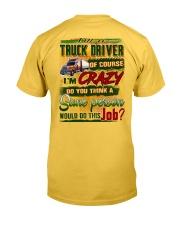 Truck Driver Classic T-Shirt tile