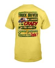 Truck Driver Premium Fit Mens Tee tile