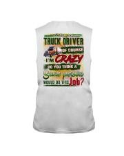 Truck Driver Sleeveless Tee tile