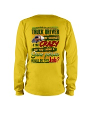 Truck Driver Long Sleeve Tee tile