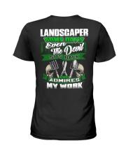 Landscaper Ladies T-Shirt thumbnail